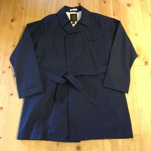 """gypsy&sons """"34S WEATHER DUSTER COAT""""(navy)"""