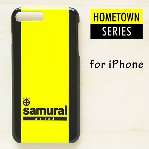 iPhoneケース 【KASHIWA】 yellow & black