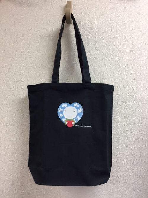 Tote トート ①紺 ②生成り