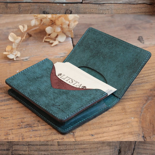 Name Card Case / BLUE GREEN (プエブロ)