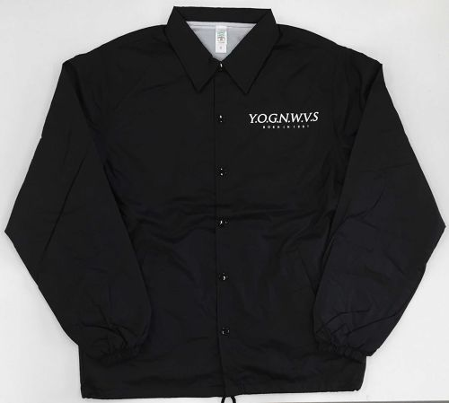 YOG OLD SCHOOL COACH JACKET (Cool-Black 2016ver.)