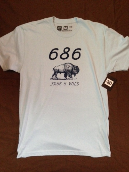 686 FREE&WIDE  S/S  LIGHT BLUE