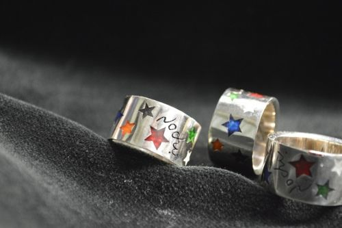 Pipe Star Ring