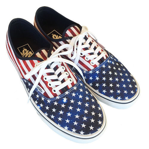 SALE ! VANS AUTHENTIC  (Americana) Dress Blues