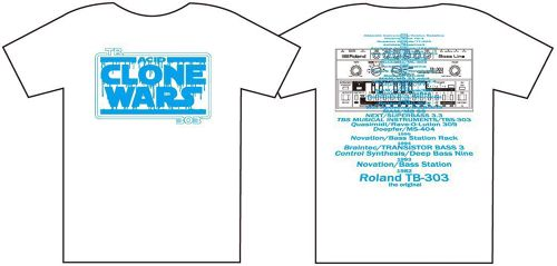 ACID CLONE WARS T-shirt