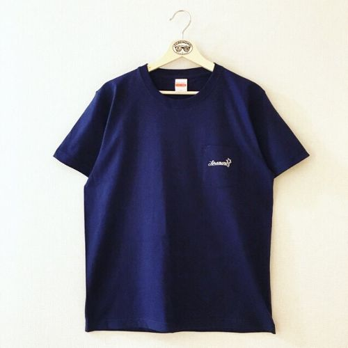 【NEW】LOGO POCKET T-SHIRTS(NAVY)