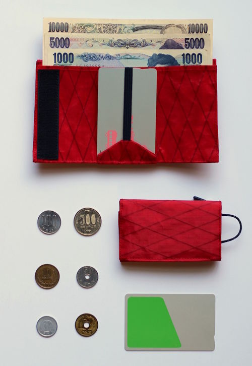 PLAY WALLET − X-PAC [RED]