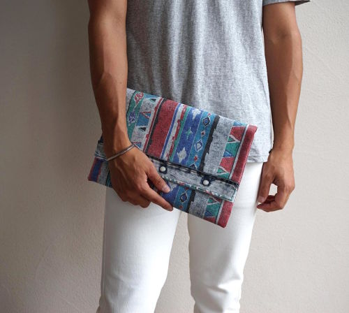"""Magfacture """"WESTERN CLUTCH"""" 80's Wrangler NATIVE&CHEMICAL ②"""