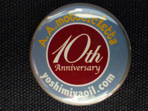10th Anniversary Badge/32ø #04