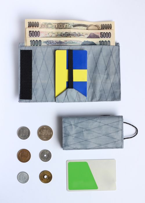 PLAY WALLET - X-PAC [GRAY]