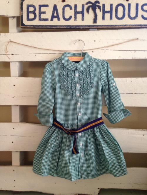 【KIDS】RLPH LAREN // GINGUM DRESS