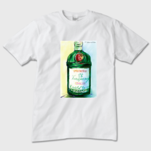 Tanqueray Tシャツ 白