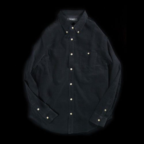 AIR CORDUROY SNAP SHIRTS BLACK