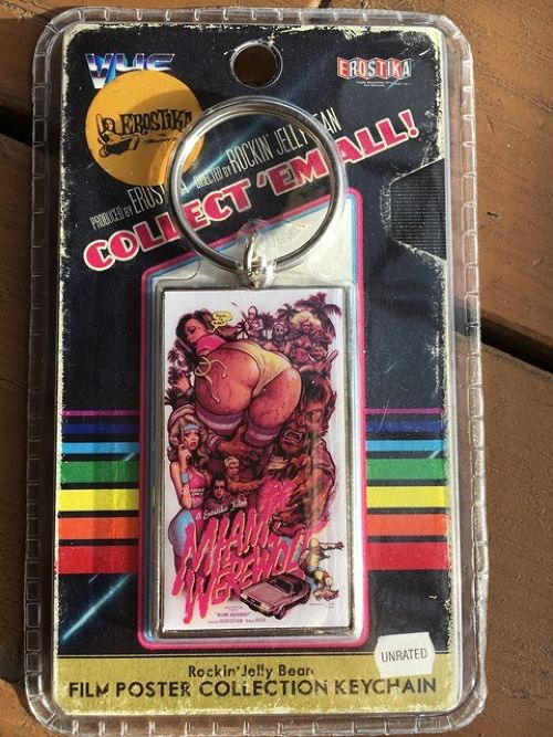"""MIAMI WEREWOLF"" MOVIE KEY CHAIN"