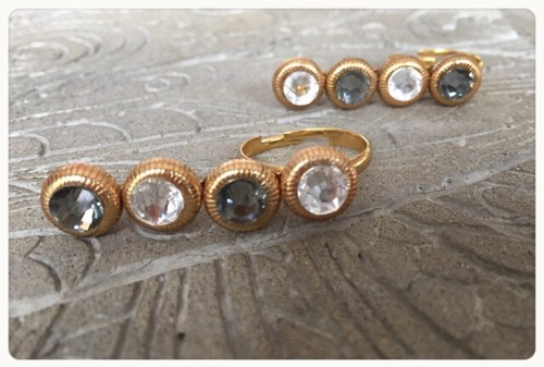 【R7001】  One row ring