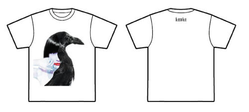 KAVKA T-shirts 「Can you feel this kisses?」ver. 【WHITE】