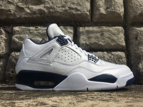"NIKE AIR JORDAN 4 RETRO LS ""COLUMBIA"" 314254-107"