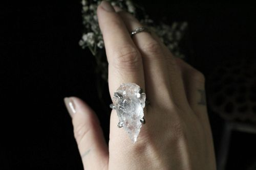 Elf Arrow Head-Statement Ring