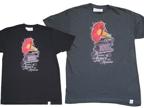 Imaginary Foundation / Music is a Force of Nature S/S TEE