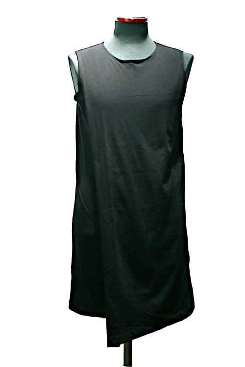"""【by H.New York】""""Shade"""" Asymmetrical Layered Top (BLK)"""