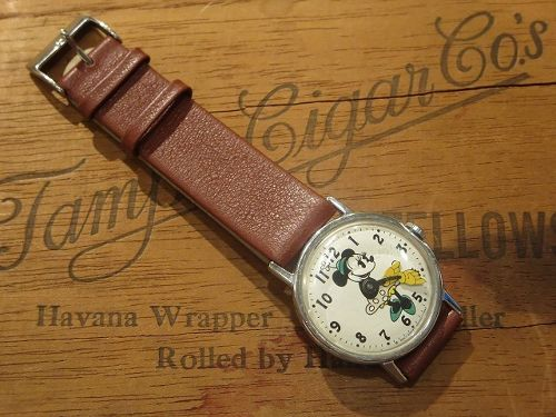 70's Minnie Mouse Vintage Watch