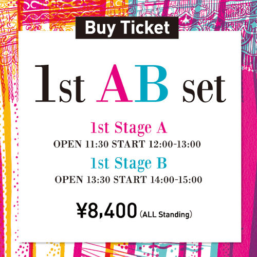 1st stage SET [12:00- & 14:00-]