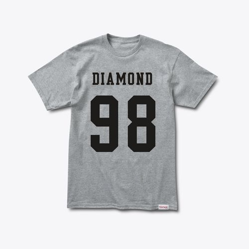 Diamond Supply Co. - Nine Eight tee HEATHER GREY