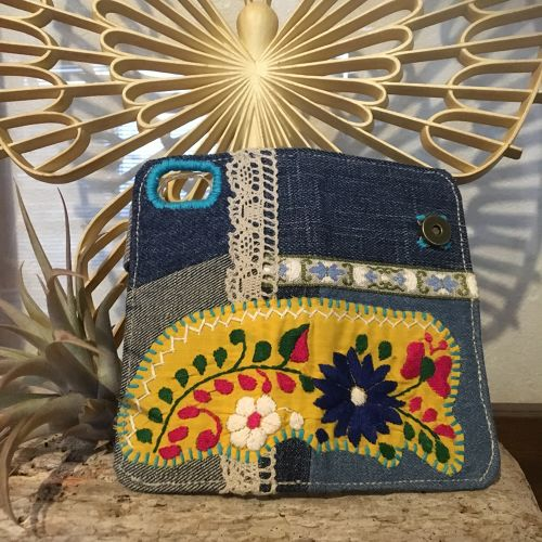 mexican embroidery iPhone case for7