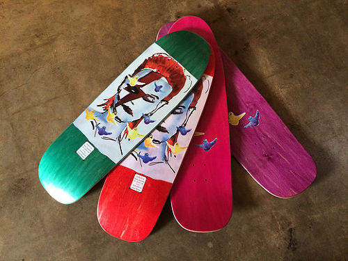 PRIME MARK GONZALES BOWIE O.G. SHAPED DECK デヴィッド ボウイ ゴンズ