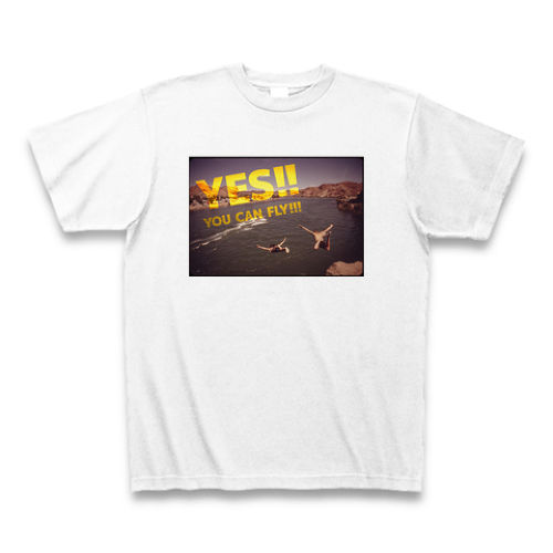 「YES!! YOU CAN FLY!!!」映画ピンポン名言Tシャツ[カラー変更リクエスト]