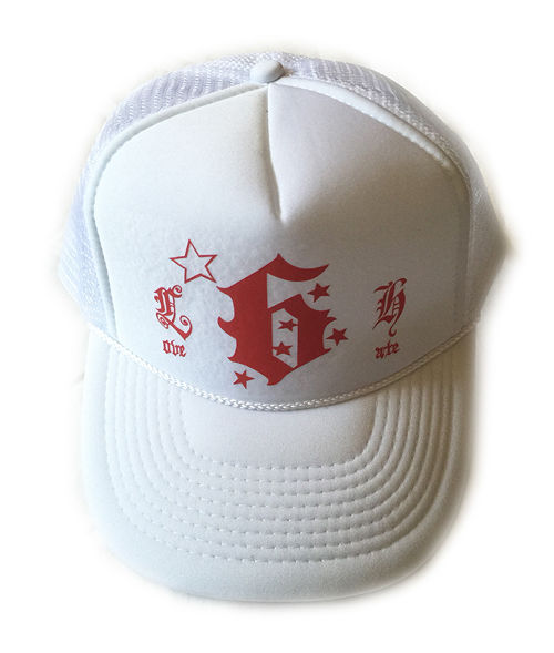 "SSM-mesh CAP ""LOVE/HATE""(ホワイト)"