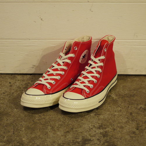 """CONVERSE Chuck Taylor 1970S (CT 70 HI) Size9 """"Red,Dead Stock"""""""
