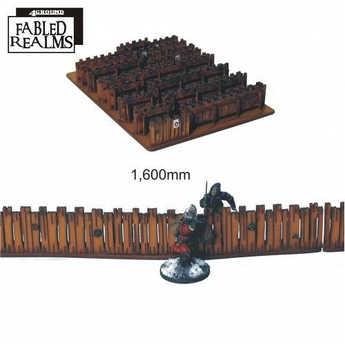 Fabled Realm Village Fencing 28S-FAR-115