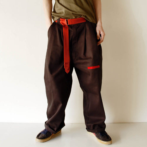 """on Mark,Sue going"" W58 customized Dickies BK"