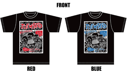 【THE WASTED】DEAR DORK Tour T-shirt