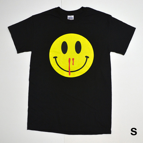 HAPPINESS OVERDOSE TEE (BLACK)