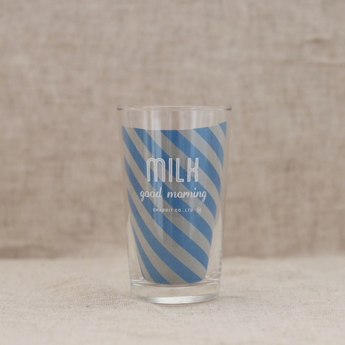 MILK(GOODMORNING)glass