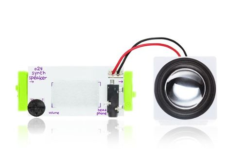 littleBits O24 SYNTH SPEAKER リトルビッツ シンセスピーカー【国内正規品】