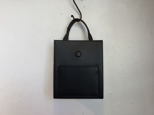 "MARROW "" MINI BOX TOTE "" BLACK"