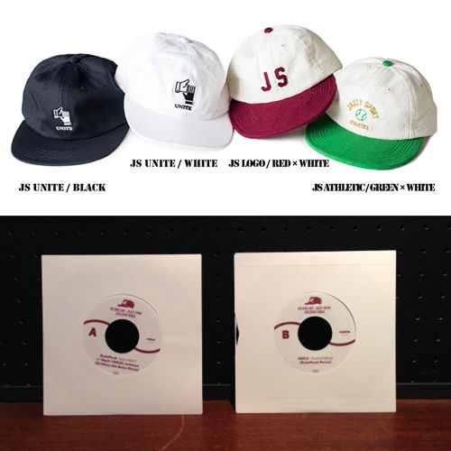 "【CAP+7""】The Decades Hat Co. × SHIPS JET BLUE × Jazzy Sport キャップ"