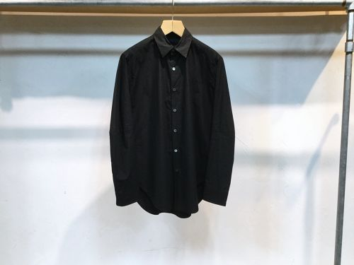 "semoh""switching shirt black"""