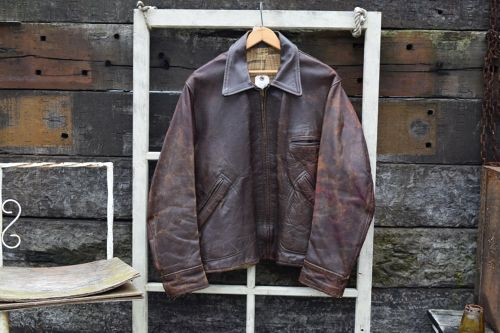 1940s vintage Leather JKT