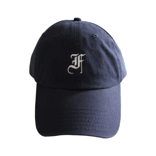 F.F.F. -old english- Low Cap[NAVY]