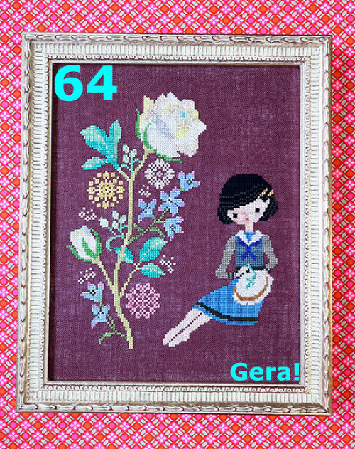 No.64 Roses Embroidery