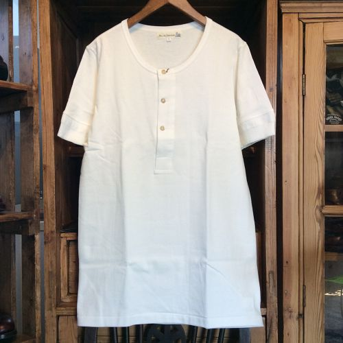 "Merz b.Schwanen ""button facing shirt 1/4 slv"""