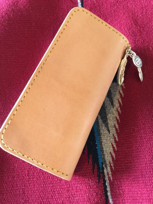 Brownie with feather charm