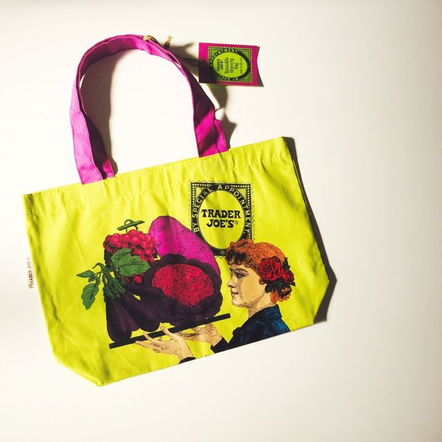 TRADER JOE'S Vege-Hat Eco Bag