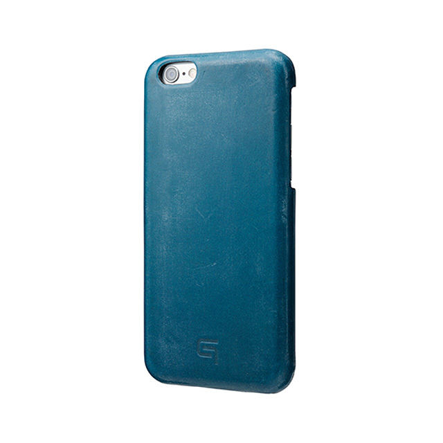 GRAMAS Bridle Leather Case LC845P for iPhone 6s Plus / iPhone 6 Plus NAVY - メイン画像