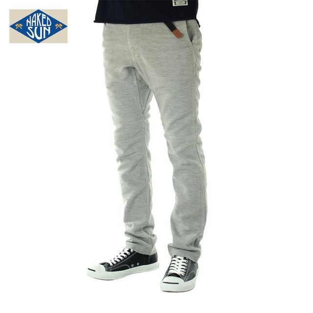 016007002(FLEXIBLE PANTS)GRAY