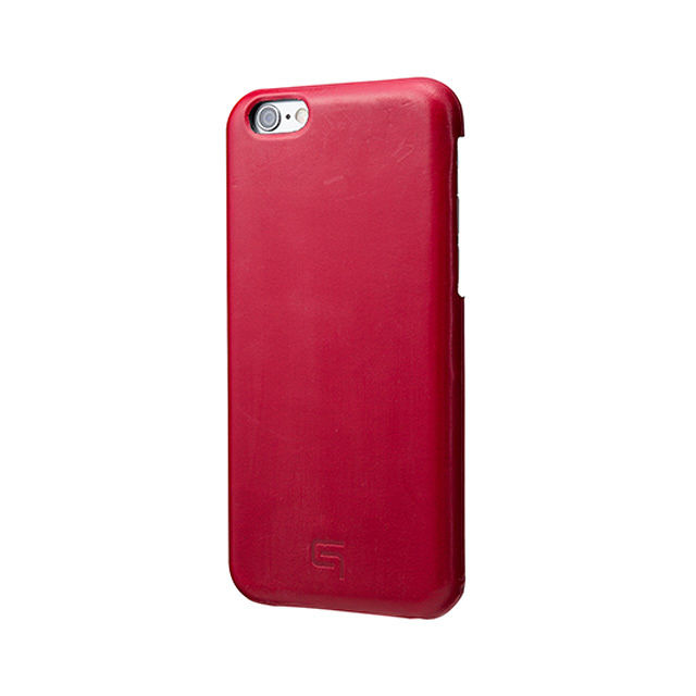 GRAMAS Bridle Leather Case LC845P for iPhone 6s Plus / iPhone 6 Plus RED - メイン画像